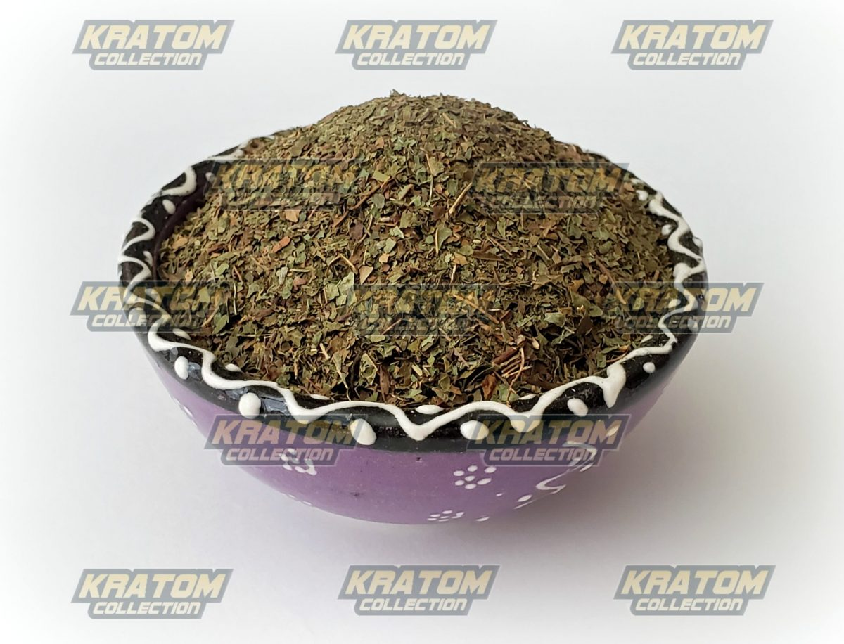 Green Malaysian Crushed Kratom - KratomCollection.com